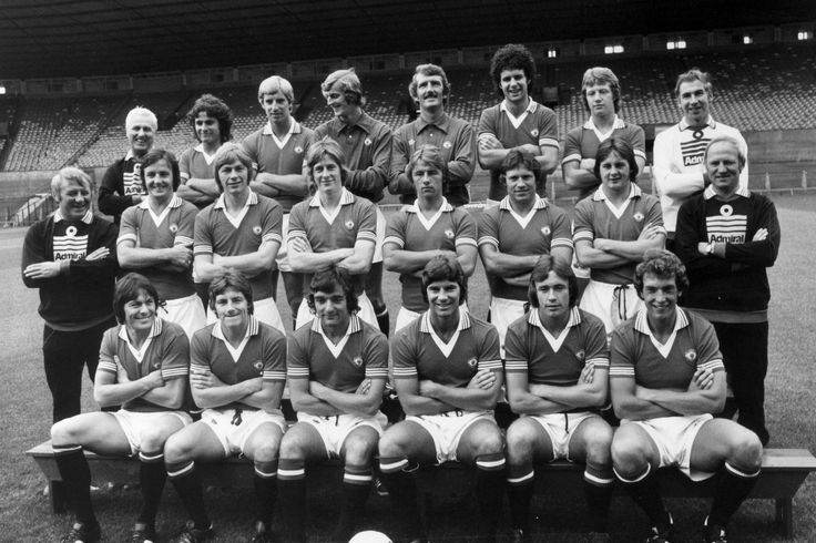 Manchester United FC. August 1976.