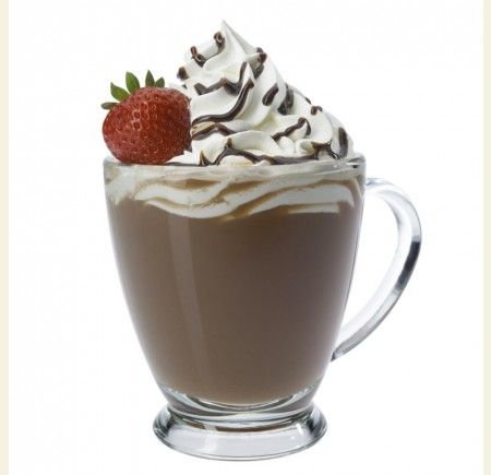 Strawberry Dipped Mocha - Winter Recipes - Recipes & Menu Items - Wholesale Coffee Supplies