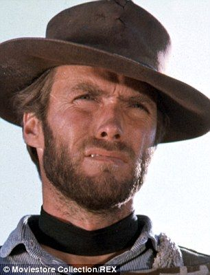 Clint Eastwood seen here in The Good, The Bad And The Ugly in 1967