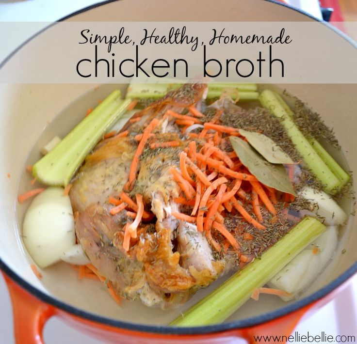 homemade chicken broth home cooked recipes chicken broth recipes easy ...