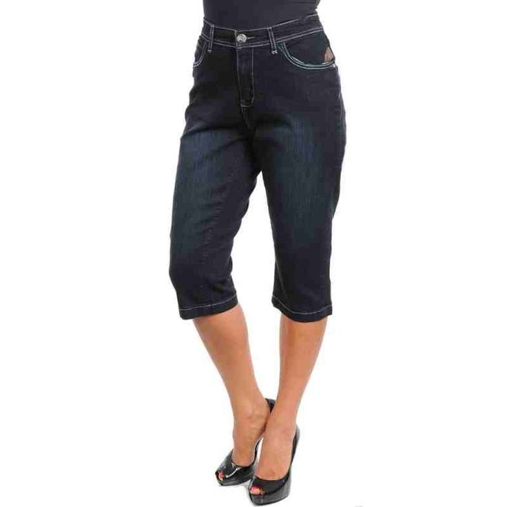 BLACK DENIM CAPRI PANTS SALE: $27.00 http://www.curvyclothing.com.au/index.php?route=product/product&path=59_61&product_id=8651