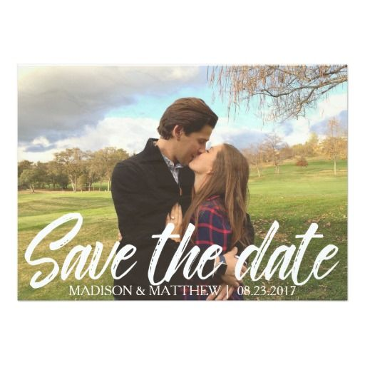 Rustic Country Save the Date invitation vintage
