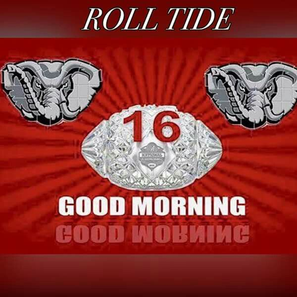 Good Morning Football : Best images about alabama football on pinterest