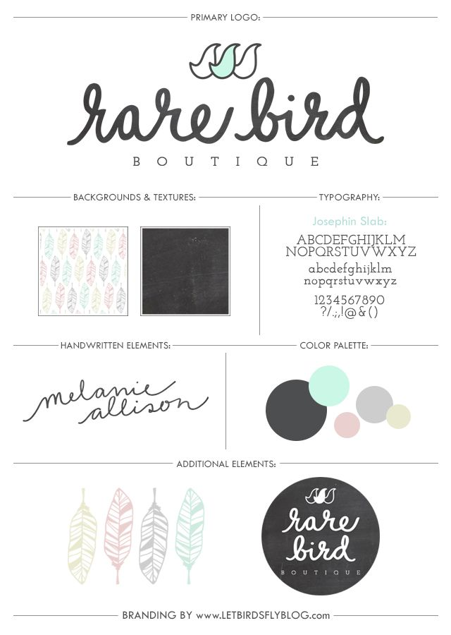 let birds fly: BRANDING | RARE BIRD BOUTIQUE   -   LOVE everything about this from the font to the colors