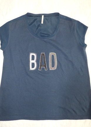 À vendre sur #vintedfrance ! http://www.vinted.fr/mode-femmes/hauts-and-t-shirts-t-shirts/30957450-tee-shirt-bad-bleu-i-code-by-ikks