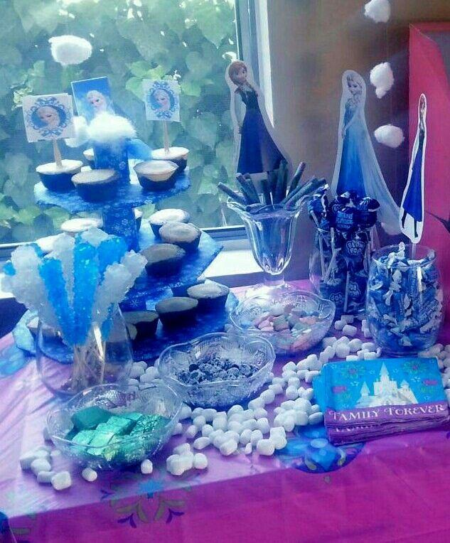 1000+ Ideas About Frozen Dessert Table On Pinterest