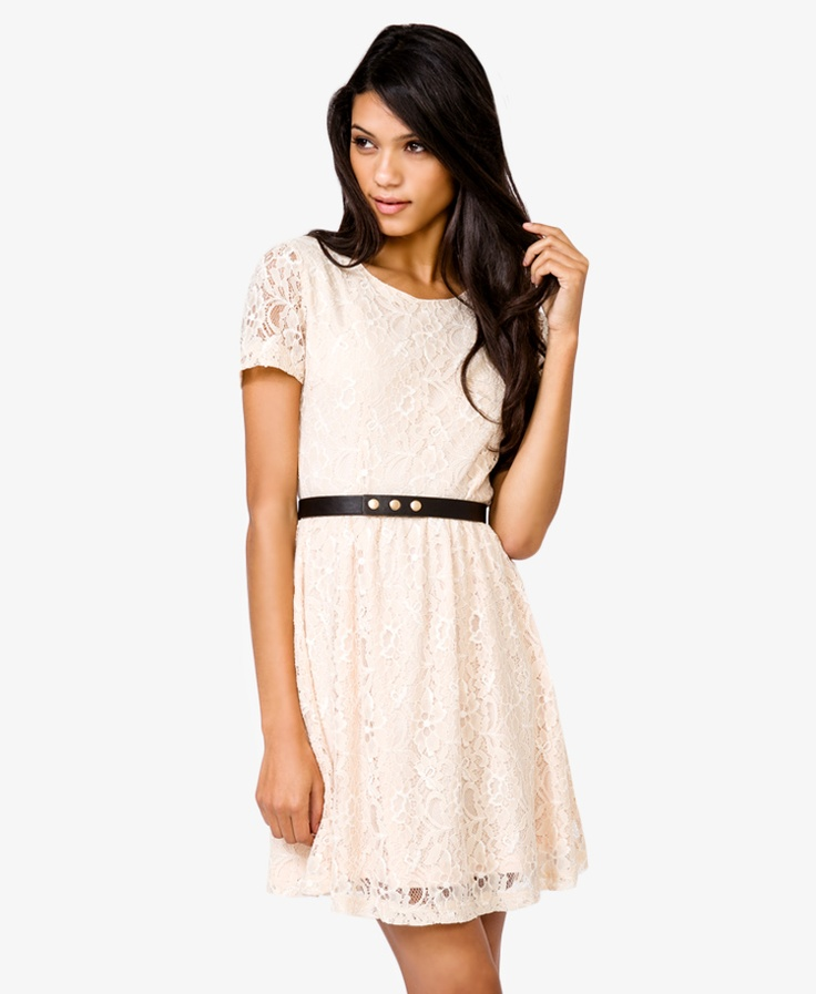 Lace A-Line Dress | FOREVER21 - 2040480041
