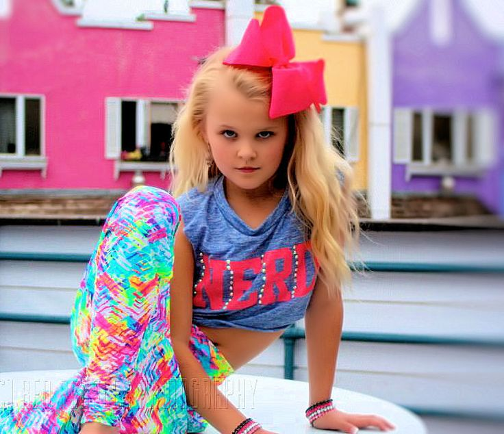 Meet… Jojo Siwa! This little girl is known for her big bows and lots of sass. She made a major appearance on Abby's Ultimate Dance Competition as one of the bottom 3 contestants.