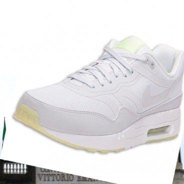 Le migliori Nike Bianco Nike Air Max 1 Uomini Corsa Scarpe si distingue sulla linea di partenza