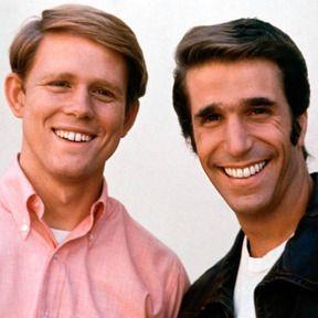 The Fonz & Richie.