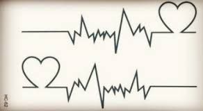 Resultado de imagem para foto e tatuagens de batimento cardiacos