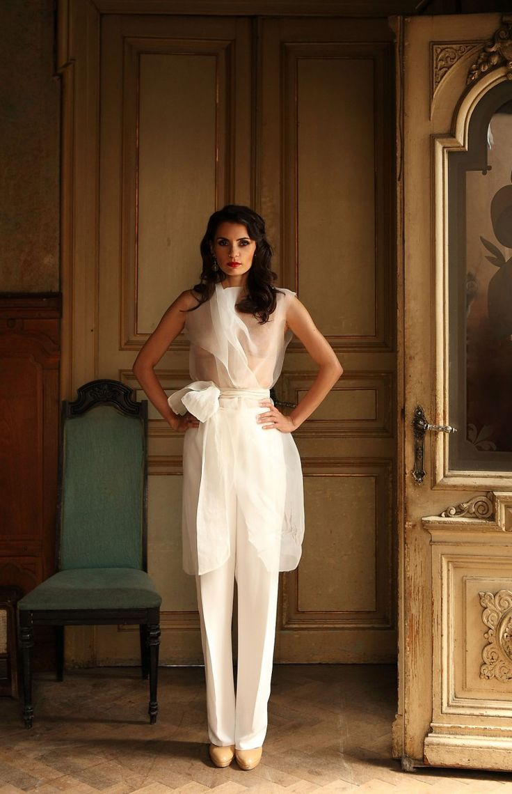 Laura Calin wearing Marie Ollie for V for Verde project.