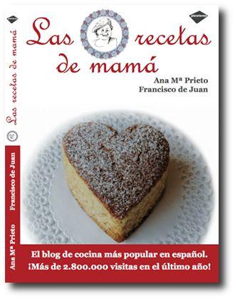 portada del libro las recetas de mama
