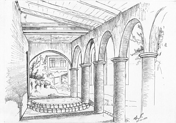 Church of lushnja sketch architecture pinterest for How to make architectural drawings