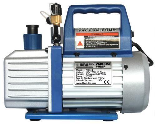 Ideal-Air HVAC 7 CFM Vacuum Pump 1/2 HP (2/Cs)