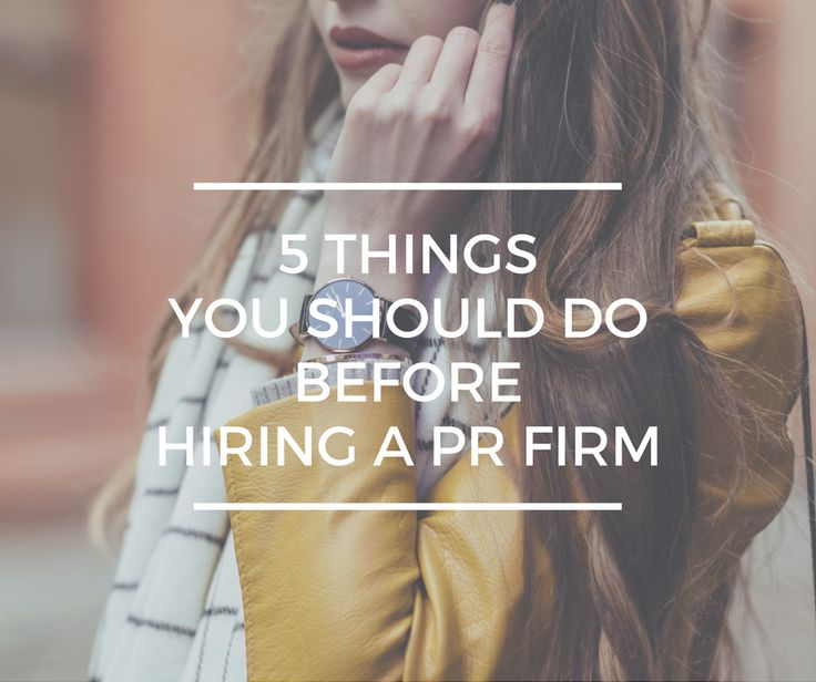 Competition is fierce and companies struggle to differentiate themselves. Is it time to look into hiring a PR firm?