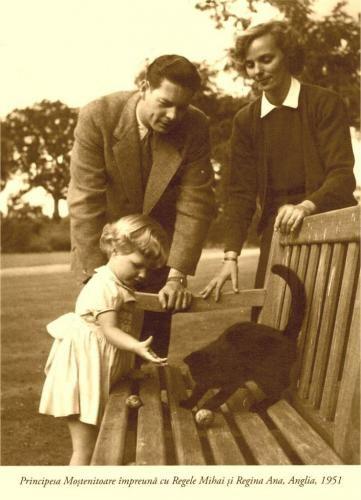 MM.LL,. Regele Mihai, Regina Ana si micuta Margareta