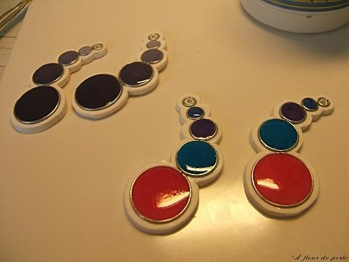Tutoriel : Comment faire un bijou design en Fimo liquide - Le blog de miss-kawaii