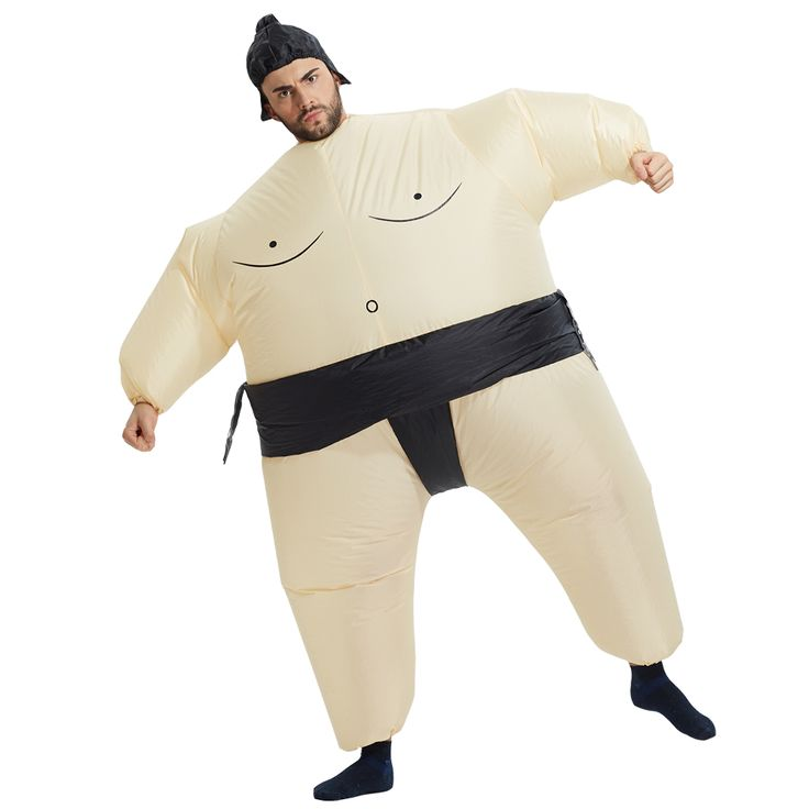 2017 New Inflatable Sumo Costume Halloween Mascot Costumes Party Fancy Costume Animal Costume For Adults With Free Shipping