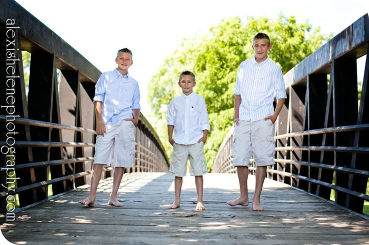 3 Brothers Photo Shoot