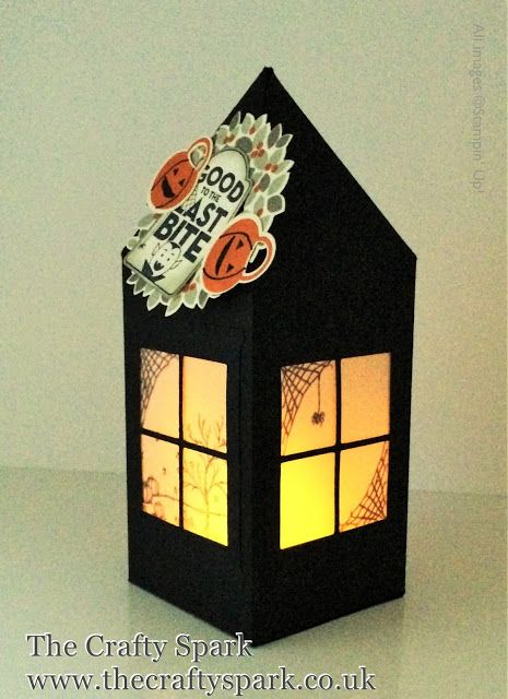The Crafty Spark: Halloween Lantern with Happy Scenes - video tutorial in post