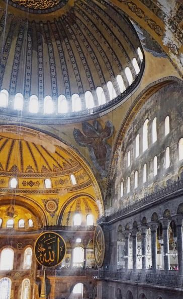 "newyorkcity on Instagram: ""Blown away by the beauty of the Hagia Sophia."" (A definite must add to your travel bucket list. Make Istanbul your next travel destination with @turkeyhome) #BlackSeaHunt"