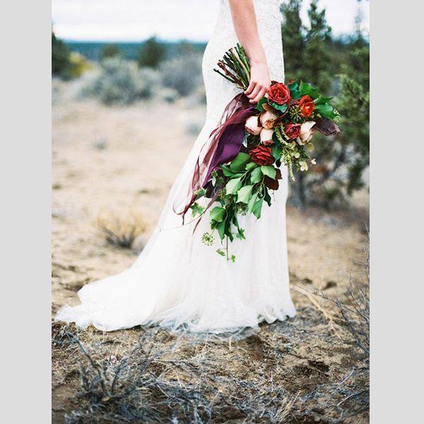 Bouquets de noiva de Natal. #casamento #bouquet #noiva #Natal #inverno #vermelho #verde