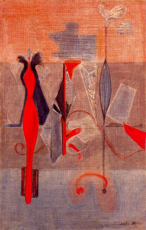 Primeval Landscape - Mark Rothko