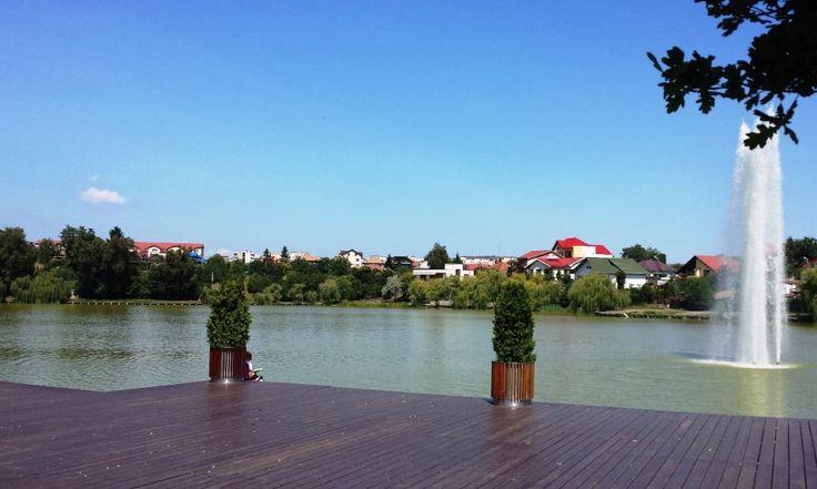 Ponton Iulius Parc in Cluj-Napoca