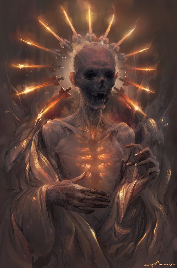 Sabbas Apterus illustration Forever Burning Heart