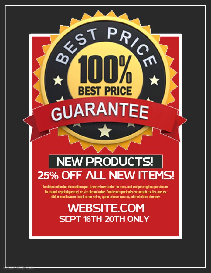 54 best Small Business Flyer Templates images on Pinterest Flyer - discount flyer template