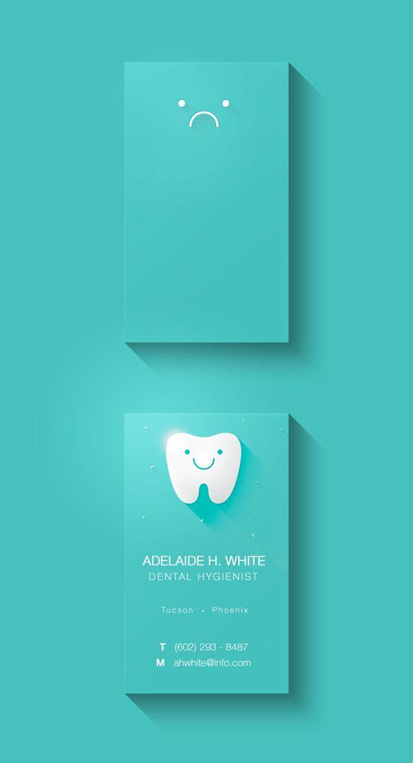 Business Card Concept by Antonella Spagnoli, via Behance
