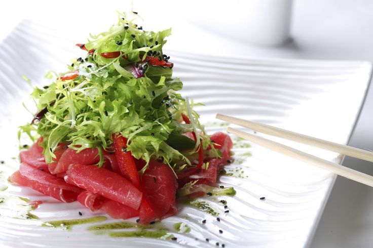 Beef Carpaccio Salad with Citrus Vinaigrette | Haute Health Magazine