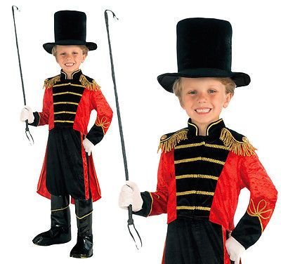#Childrens #circus ring master #fancy dress costume lion tamer outfit 3-8 yrs,  View more on the LINK: http://www.zeppy.io/product/gb/2/351699543842/