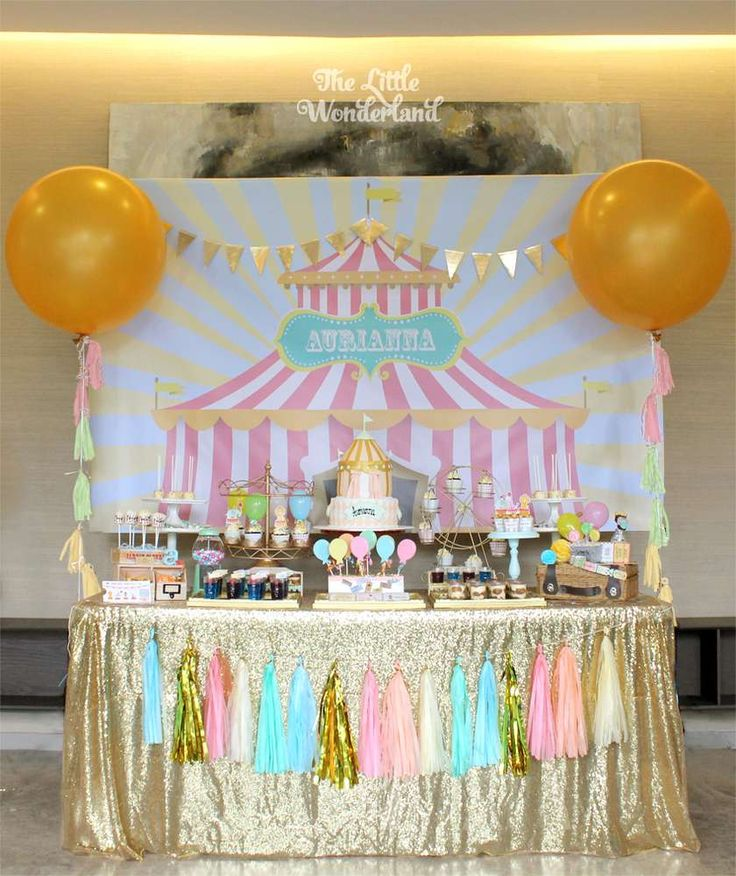 Fabulous Carnival Party Birthday Party Ideas   Photo 4 of 14   Catch My Party