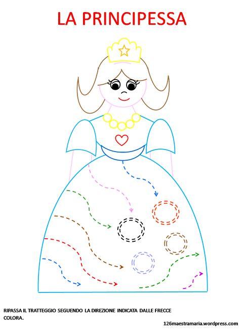 Pregrafismo di Carnevale:la principessa