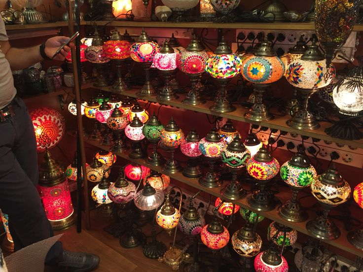 #turkey #vacations #destinations #lamps #colourful