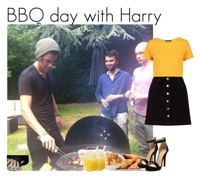 """BBQ day with Harry"" by louise-smiths ❤ liked on Polyvore featuring Boohoo and Miss Selfridge"
