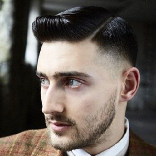 Prohibition haircut,been doing a lot of these lately!