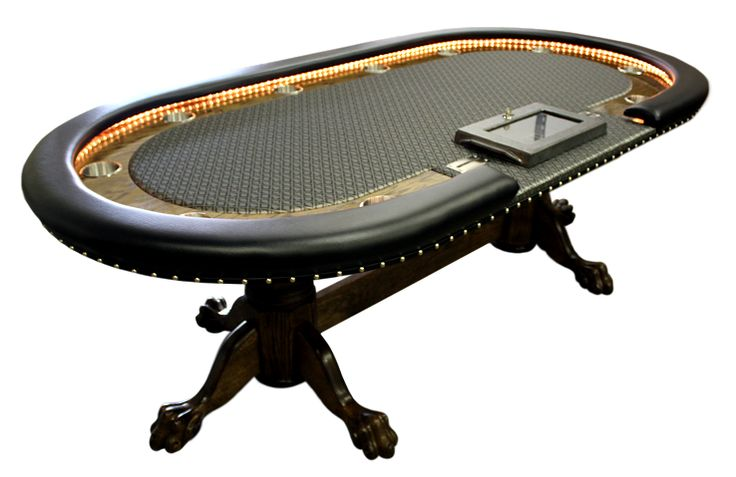 73 best Poker Tables with Lights images on Pinterest ...