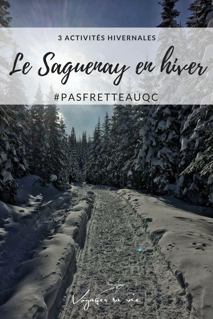 Le Saguenay en hiver, activit�s hivernales �  faire absolument