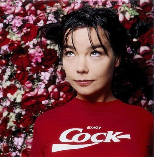 Bjork. totally talented babe.
