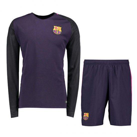 world cup home replica long sleeve blank jersey 16 17 football shirt barcelona away long sleeve chea