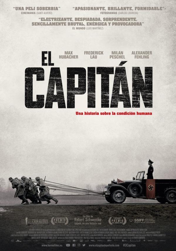 Película El capitán - Estreno septiembre de 2018  Drama bélico