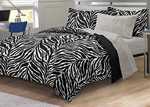 21 best Zebra Comforter Sets Purple, Pink, Green, Brown, Black - schlafzimmer zebra