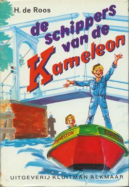 De schippers van de Kameleon. In de 5de klas van de lagere school werden we hier altijd uit voorgelezen.