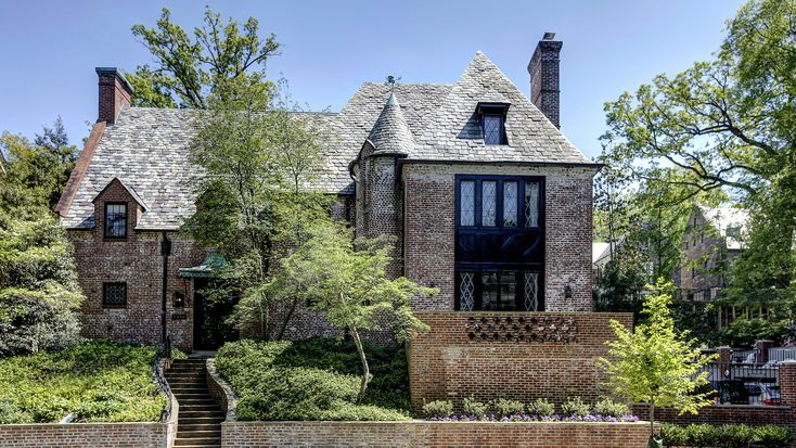 As their time in the White House draws to a close, we take a look at the Obama's new home in the Kalorama neighbourhood of Washington D.C.