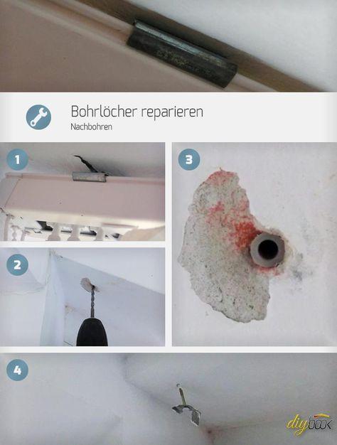 Amazing Bohrl cher reparieren Nachbohren
