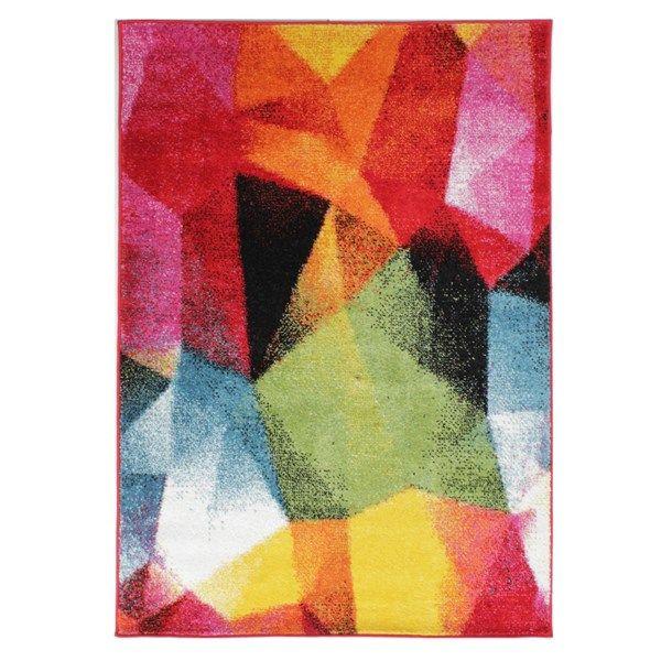 Light & bright mirror multicoloured rugs buy online from the rug seller uk