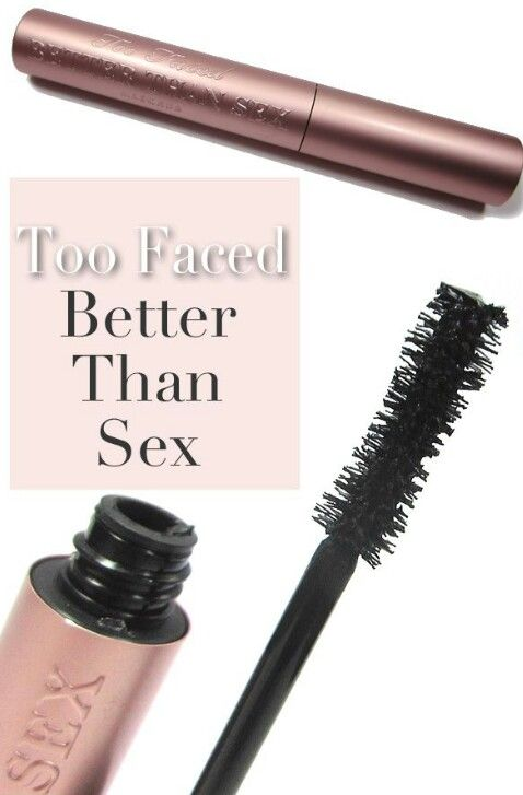 Mascara Monday: Too Faced Better Than Sex Mascara.